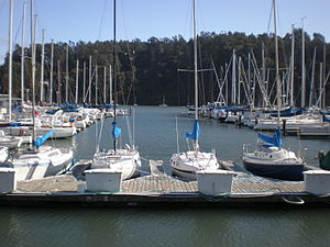 Treasure Island, San Francisco - Image: Treasure Isle Marina 1
