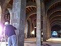 Treballs de restauració Drassanes Reials de Barcelona (7).JPG