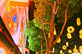 Tree and Chinese New Year decorations outside the Bee Cheng Hiang store, New Bridge Road, Singapore - 20140214.jpg