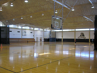 Trees Hall - Intramural basketball courts