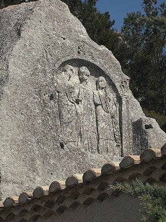 Les Baux-de-Provence - Trémaïé Bas-relief