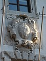 Trento-Palazzo Roccabruna-Madruzzo coat of arms above balcony 1.jpg
