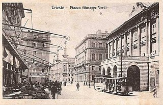 Trams in Trieste