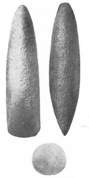 Pitted Ware culture -  Trindyxa (round stone axe), Gotland, Sweden