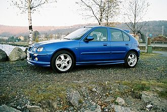 MG ZR - A five door MG ZR