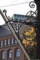 Trostbrücke 6 (Hamburg-Altstadt).Flaggenstock.ajb.jpg