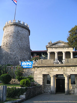 Rijeka - Trsat Castle lies at the exact spot of an ancient Illyrian and Roman fortress