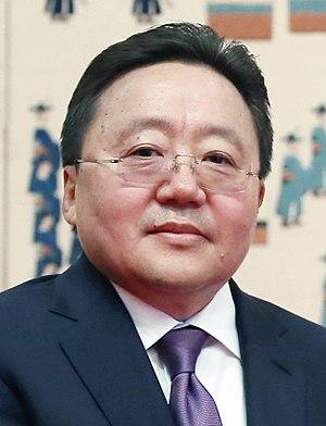 President of Mongolia - Image: Tsakhiagiin Elbegdorj 2016