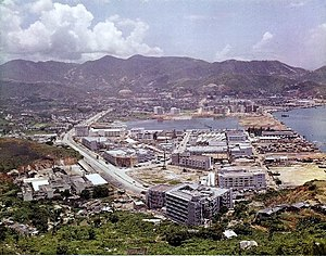 Tsuen Wan New Town - the area of Tsuen Wan New Town in 1961.