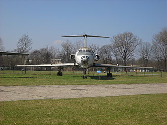 Polish Aviation Museum - Tupolev Tu-134