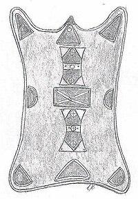Tuareg schild