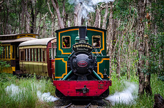 Albion Park, New South Wales - Tully Sugar Mill No.6 at Illawarra Light Railway Museum, Albion Park Rail