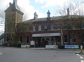 Tunbridge Wells West railway station - Image: Tunbridge Wells West 5