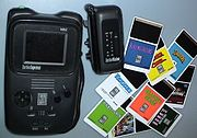 TurboExpress handheld, TV tuner, and games