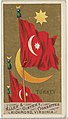 Turkey, from Flags of All Nations, Series 1 (N9) for Allen & Ginter Cigarettes Brands MET DP841350.jpg