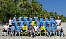Tuvalu-Sport-Tuvalu national football team (team picture, 2011)