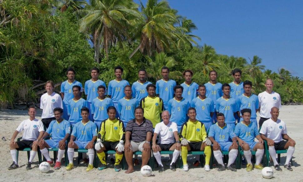 Tuvalu national football team (team picture, 2011)