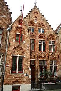 Twee diephuizen- pastorie van de Sint-Jacobsparochie - Moerstraat 50 - Brugge - 29492 (2).JPG