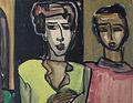 Twee figuren; Travesties uit Lapin Agile.jpg