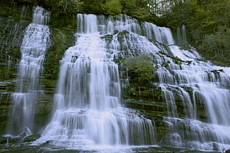 Warren County, Tennessee - Twin Falls at Rock Island State Park