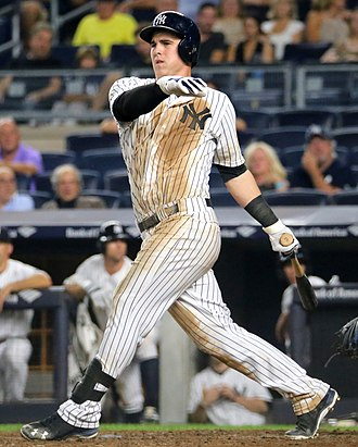 Tyler Austin - Austin with the New York Yankees in 2016