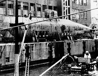 German Type XVII submarine - Image: U 1406