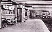 U-Bahn Berlin Spittelmarkt 1908