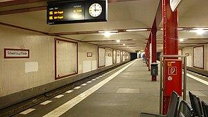 Schwartzkopffstraße (Berlin U-Bahn) - U-Bahn station Schwartzkopffstraße
