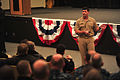 U.S. Navy Vice Adm. William F. Moran, the chief of naval personnel, speaks with U.S. Sailors and civilians during an all-hands call at Naval Support Activity Mid-South in Millington, Tenn., Dec. 17, 2013 131217-N-OV802-069.jpg