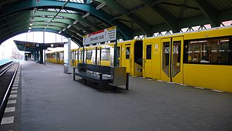 Eberswalder Straße (Berlin U-Bahn) - Platform