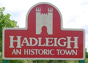 Hadleigh, Suffolk - Image: UK Hadleigh (Suffolk) Cropped
