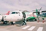 UNI Air B-17001 at Taipei Songshan Airport 20150618.jpg
