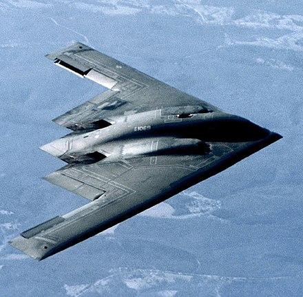 The stealth birder. Er, bomber.