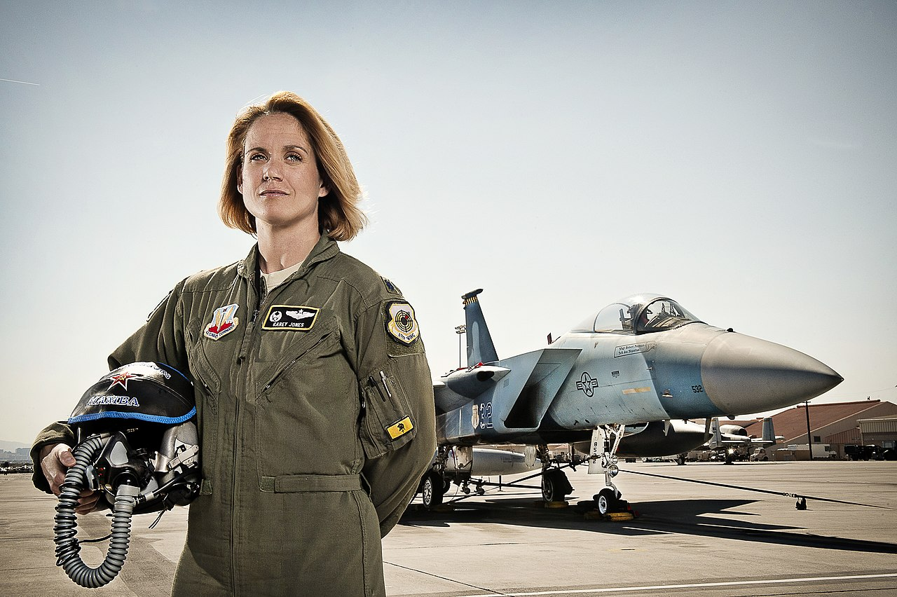 fileusaf female f15c eagle fighter pilot lt col carey
