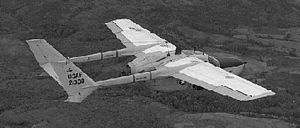 Cessna O-2 Skymaster - USAF O-2 Skymaster in flight