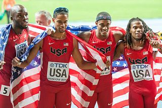 2013 World Championships in Athletics – Mens 4 × 400 metres relay