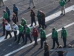 USS Carl Vinson foreign object damage walk-down 141028-N-TP834-081.jpg