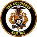 USS Columbus (SSN-762) Ship crest.png