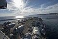 USS Dwight D. Eisenhower departs Marseille, France. (8553595845).jpg