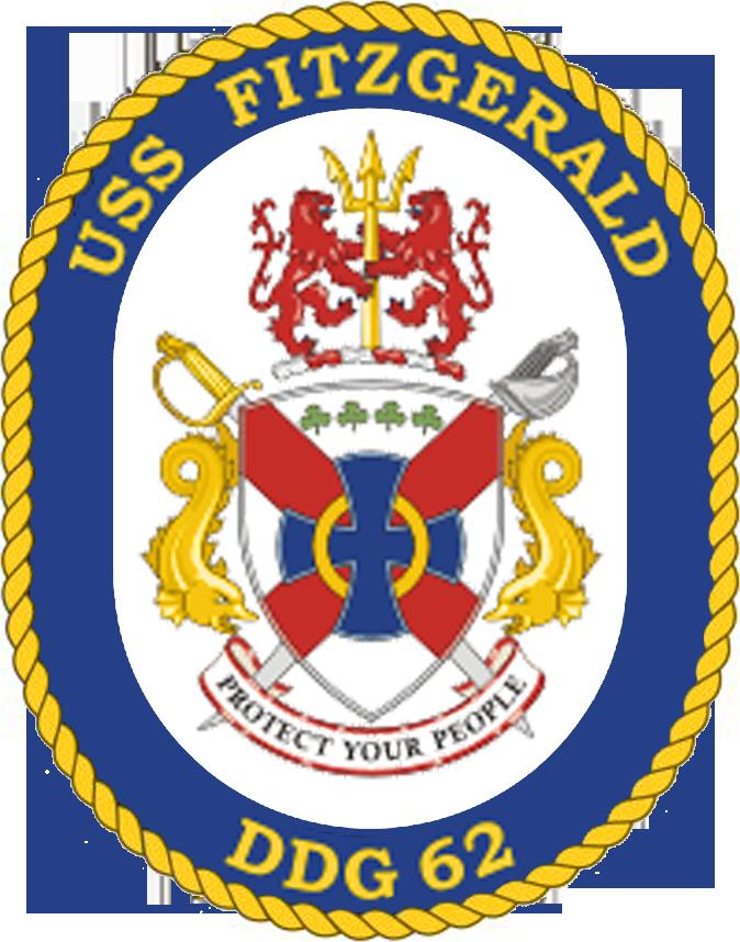 USS Fitzgerald DDG-62 Crest