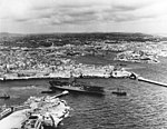 USS Philippine Sea (CV-47) leaves Malta in February 1949.jpg