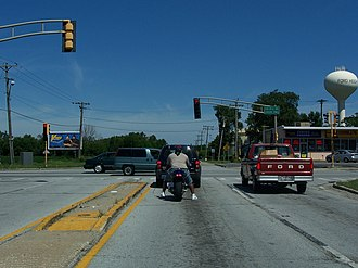 Ford Heights, Illinois - US 30 in Ford Heights