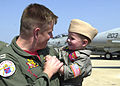 US Navy 020814-N-8703M-077 VF-11 member is welcomed home.jpg