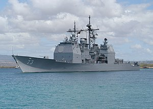 المدمرة الامريكية من طراز Arleigh Burke	 300px-US_Navy_030903-N-5024R-003_USS_Port_Royal_%28DDG_73%29_departed_on_deployment