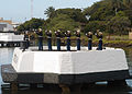 US Navy 031207-N-5024R-087 Members of the U.S. Marine Corps Rifle Detail perform a 21-gun salute during the 62nd Pearl Harbor Anniversary ceremony of the attack on Pearl Harbor.jpg