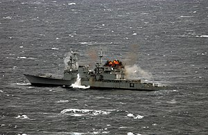 USS Hayler - The end of USS Hayler, 13 November 2004