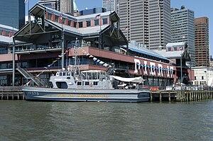 South Street Seaport - Pier 17 before demolition
