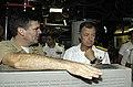 US Navy 080916-N-8467N-006 Cmdr. Ryan Brookhart shows off the control room.jpg