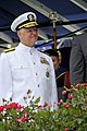 US Navy 100528-N-8273J-162 Chief of Naval Operations (CNO) Adm. Gary Roughead congratulates newly commissioned Navy ensigns and Marine Corps 2nd lieutenants during the U.S. Naval Academy Class of 2010 graduation and commissioni.jpg