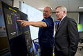 US Navy 100629-N-5549O-017 rd Adm. Thad Allen, national incident commander for the Deepwater Horizon oil spill response, briefs Secretary of the Navy (SECNAV) the Honorable Ray Mabus.jpg